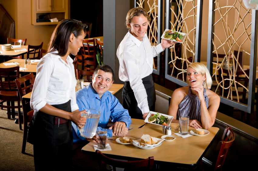 Improve Restaurant Dining Area Service With Anticipation and Reaction