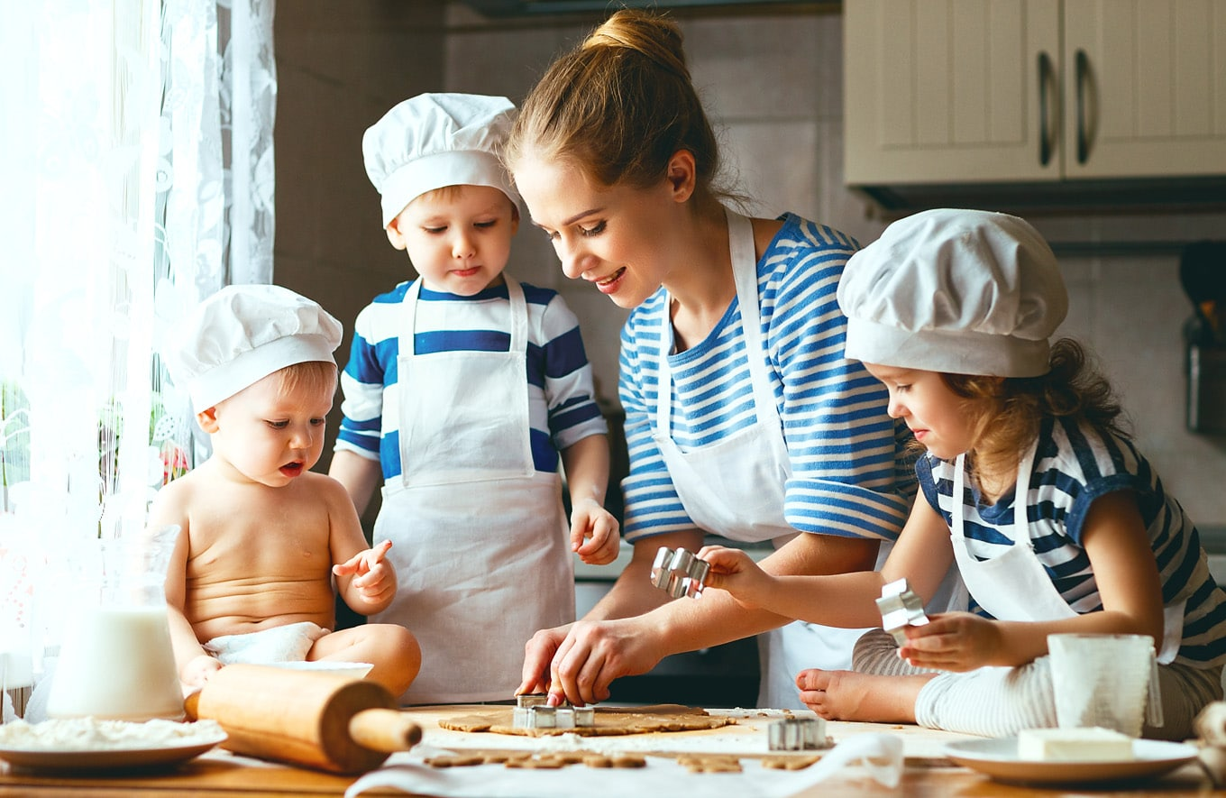 Cooking – Strategies For Cooking With Kids